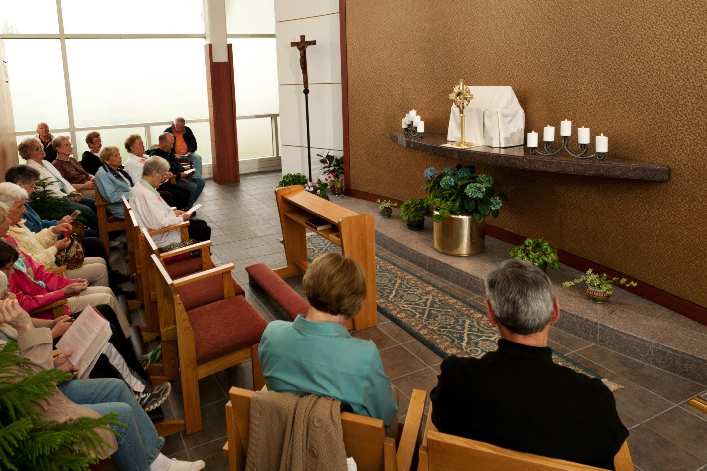 View Full Size St Mary of the Annunciation Mundelein