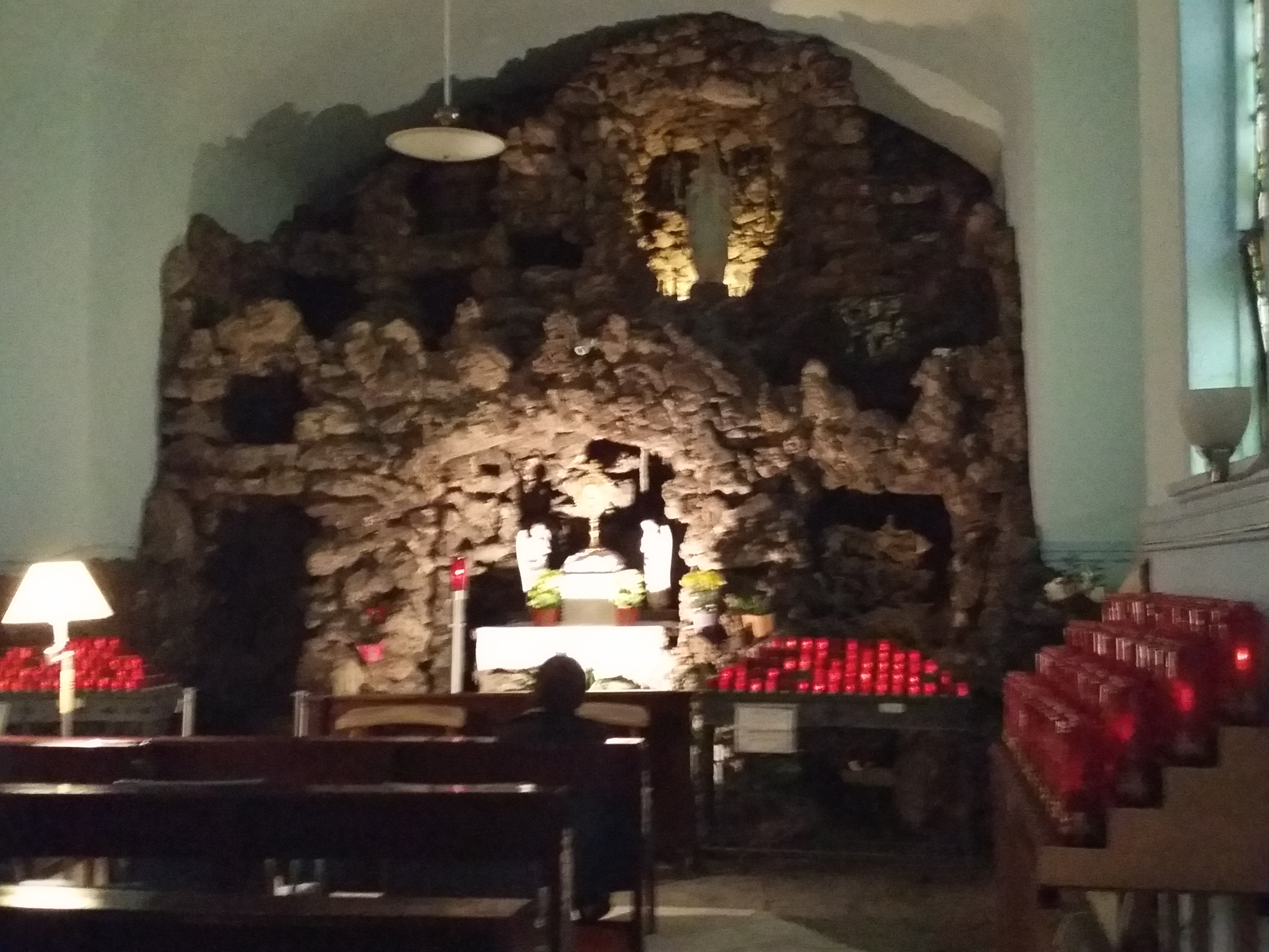 View Full Size Our Lady of Lourdes