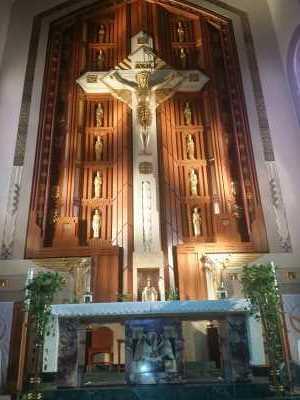 St Genevieve Altar Crucifix