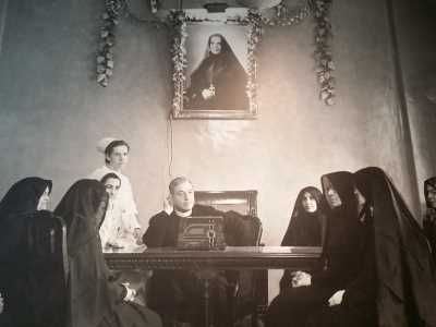 Mother Cabrini and Cardinal Mundelein