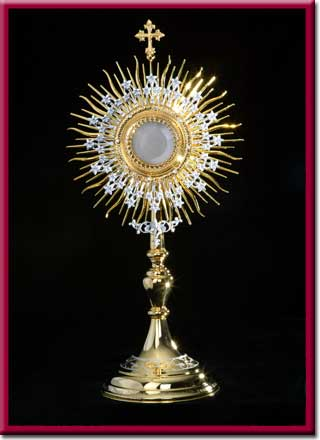 Monstrance Blessed by John Paul II
