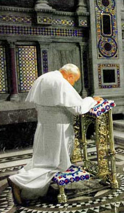 John Paul II in Prayer